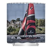 Extreme 40 Team Alinghi Shower Curtain