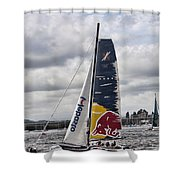 Extreme 40 Team Red Bull Shower Curtain