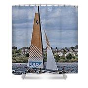 Extreme 40 Team Sap Extreme Shower Curtain