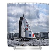 Extreme 40 Team Zoulou Shower Curtain