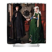 Eyck: Arnolfini Marriage Shower Curtain