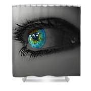 Eye Art Shower Curtain