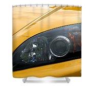 Eye Of A Car Shower Curtain