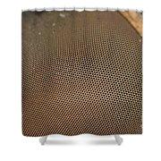 Eye Of Horsefly Shower Curtain