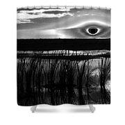 Eye Over Everglades Shower Curtain