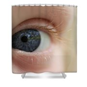 Eye-yi-yi Shower Curtain