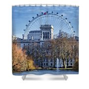 Eyeing The View Shower Curtain