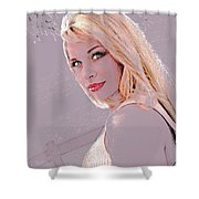 Eyes Of Beauty Shower Curtain