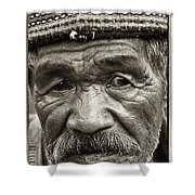 Eyes Of Soul Shower Curtain by Skip Nall