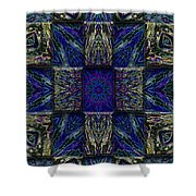 Eyes Of The Night Shower Curtain
