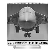 F-111e Aardvark Shower Curtain