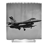 F-16c Shower Curtain