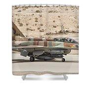 F-16i Sufa Fighting Falcon Shower Curtain