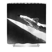 F-4 Phantom Fighter Jet Shower Curtain