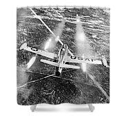 F-84 Thunderjet, 1949 Shower Curtain