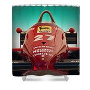 1985 Ferrari 156/85 F1 Nose Shower Curtain