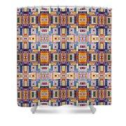 Fabric Art Shower Curtain