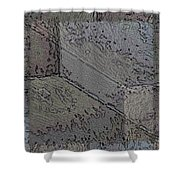Facade 7 Shower Curtain