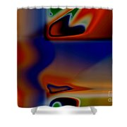 Face 123 Shower Curtain