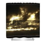 Face In Sky Shower Curtain