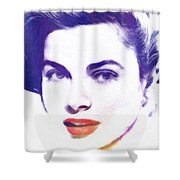 Face Of Beauty Shower Curtain