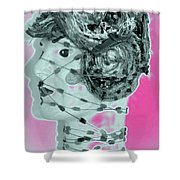 Faced With Doubt Shower Curtain
