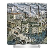Factories: England, 1879 Shower Curtain