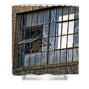 Factory Air In New Orleans Shower Curtain