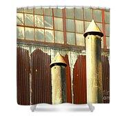 Factory Silence Shower Curtain