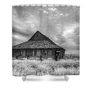 Faded With Age Shower Curtain