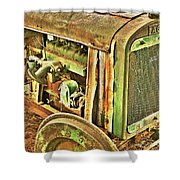 Fageol Tractor 2 Shower Curtain
