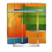 Failing Perspective Limited Edition Shower Curtain