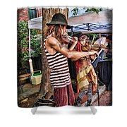 Faire Performers Shower Curtain