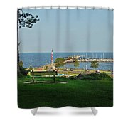 Fairhope Pier 2012 Shower Curtain