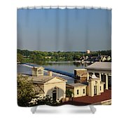 Fairmount Waterworks And Dam Shower Curtain