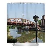 Fairport Lift Bridge Shower Curtain