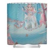 Fairy Godmother Convention Shower Curtain
