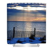 Hope Is On The Horizon Shower Curtain