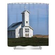 Faith On The Prairie Shower Curtain