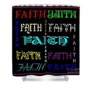 Faith Shower Curtain