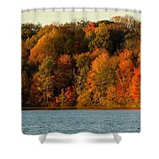 Fall Abounds Shower Curtain