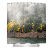 Fall At The Lake 2 Shower Curtain