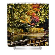 Fall At Tyler State Park Shower Curtain
