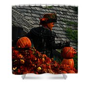 Fall Celebration Shower Curtain