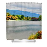 Fall Color At Sand Creek Shower Curtain