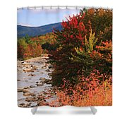 Fall Color In The White Mountains Shower Curtain