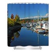 Fall Colors At English Bay Shower Curtain