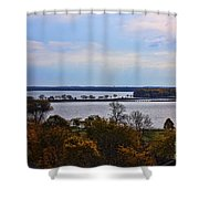 Fall Colors In Madison Shower Curtain