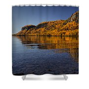 Fall Colours In The Squaw Bay II Shower Curtain