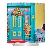 Fall Decorations Shower Curtain